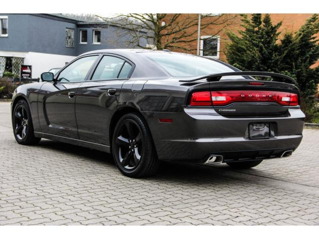 lhd car DODGE CHARGER (07/2014) - grey - lieu:
