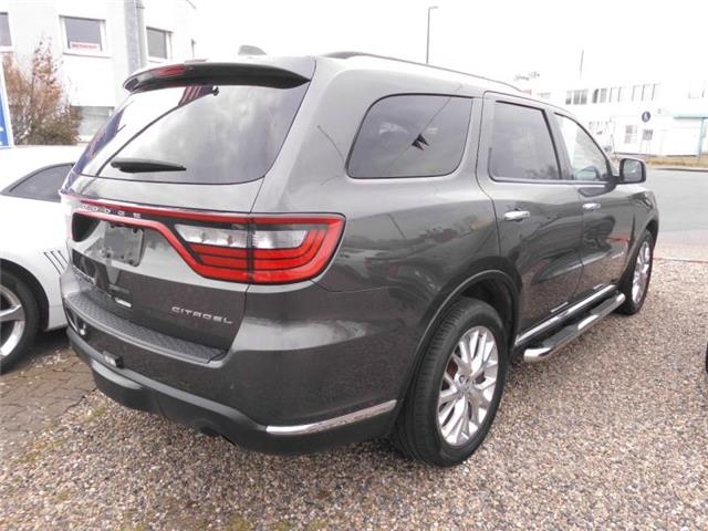 lhd car DODGE DURANGO (07/2014) - grey - lieu: