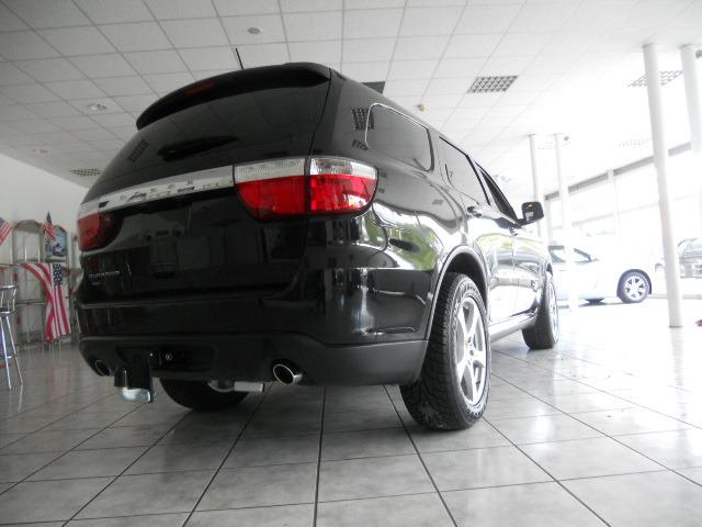 lhd car DODGE DURANGO (10/2015) - black - lieu: