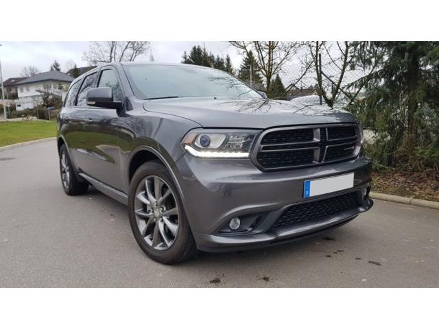 Left hand drive DODGE DURANGO 3.6