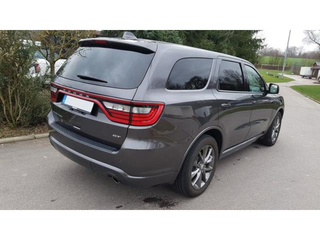 Left hand drive car DODGE DURANGO (07/2017) - grey - lieu: