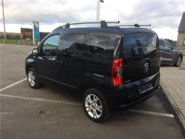 lhd car FIAT QUBO (03/2016) - black - lieu: