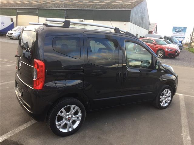 Left hand drive car FIAT QUBO (03/2016) - black - lieu: