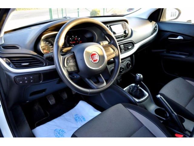 Left hand drive car FIAT TIPO (05/2016) - white