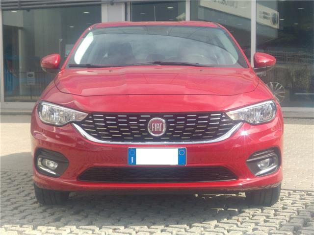 lhd car FIAT TIPO (02/2017) - red