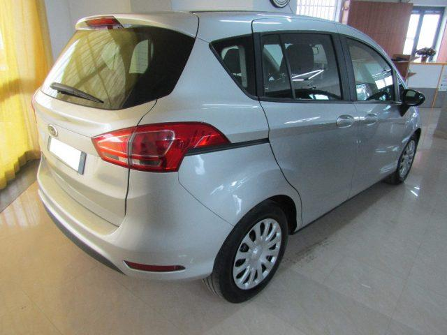 lhd car FORD B MAX (06/2016) - grey - lieu: