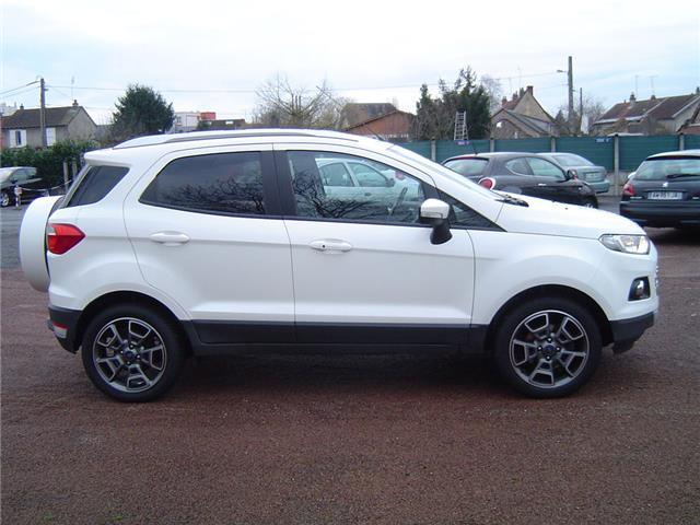 lhd car FORD ECOSPORT (03/2016) - white - lieu:
