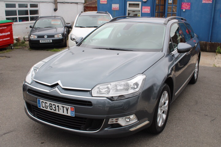 Left hand drive CITROEN C5 1.6 HDI 115 TOURER FRENCH REG