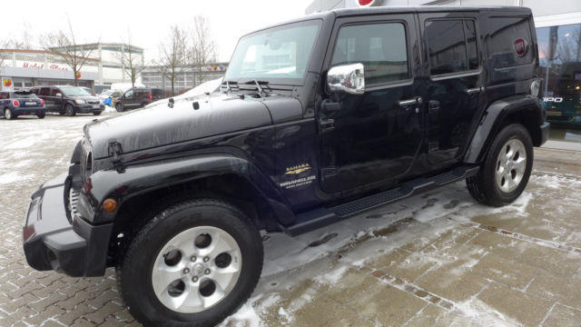 JEEP WRANGLER (09/2014) - BLACK
