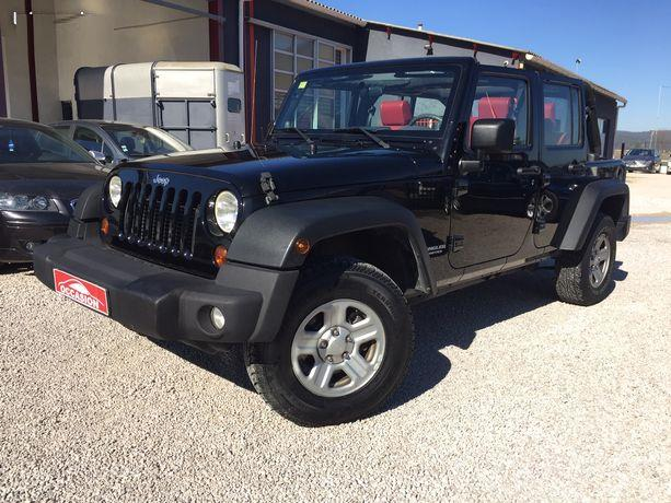 Left hand drive JEEP WRANGLER 2.8 CRD 177 Unlimited auto French reg