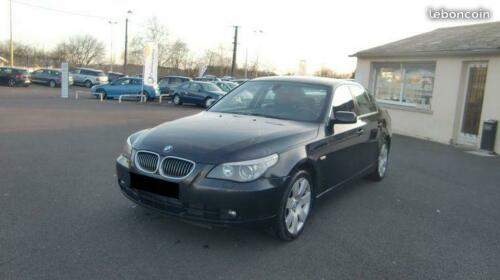 lhd BMW 5 SERIES (04/2008) - BLACK - lieu: