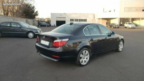 BMW 5 SERIES (04/2008) - BLACK - lieu:
