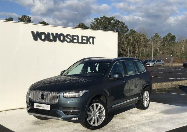 Left hand drive VOLVO XC 90 D5 235 AUTO INSCRIPTION 7 SEATS FRENCH REG