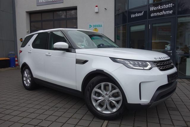 Left hand drive LANDROVER DISCOVERY  5 2.0 TD4 SE GPS 7 SEATS