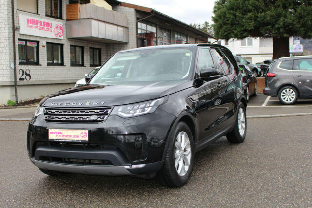 Left hand drive LANDROVER DISCOVERY 5 TD6 SE Navi