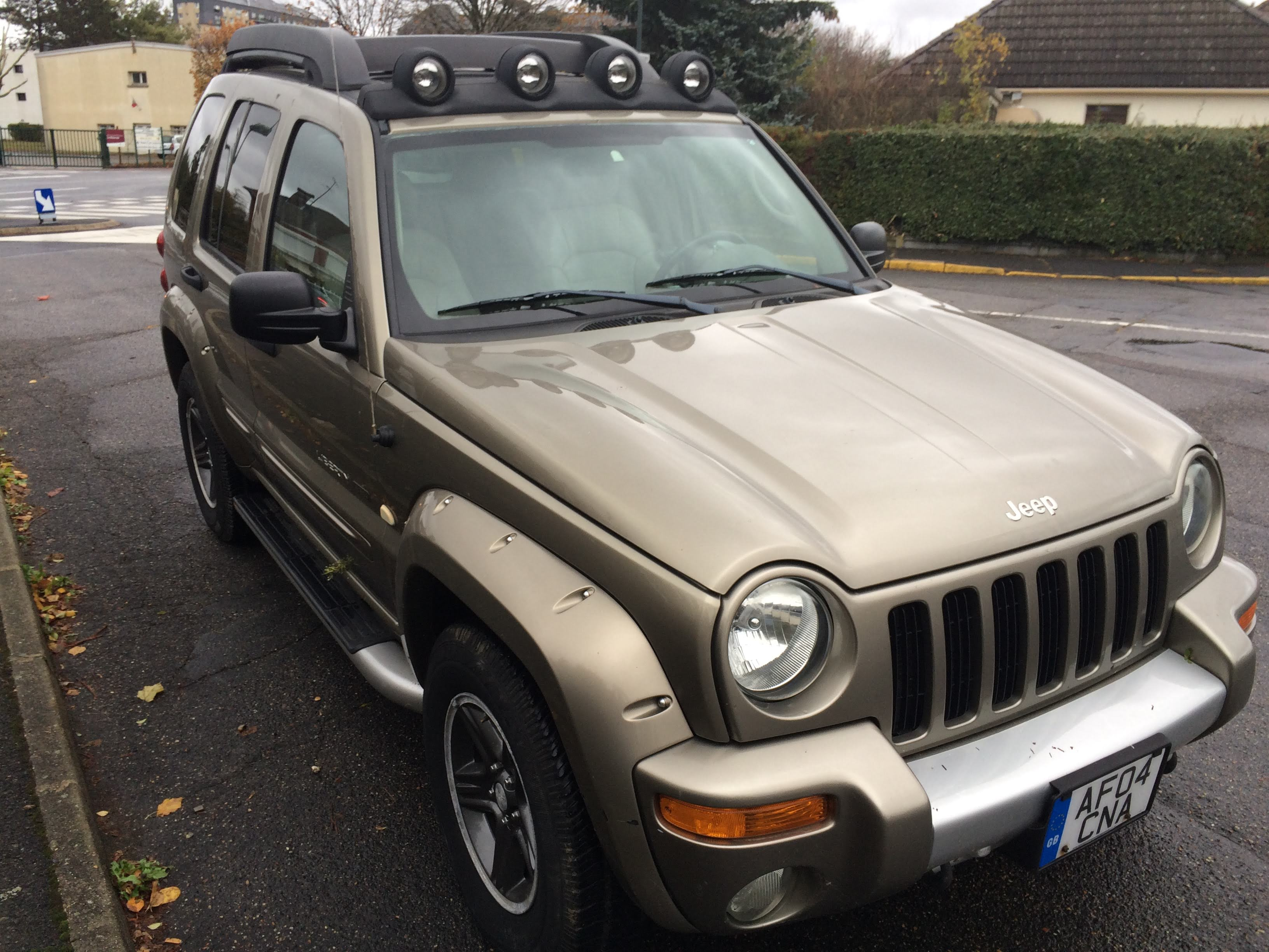 Left hand drive JEEP CHEROKEE 3.7 JAMBOREE UK REG