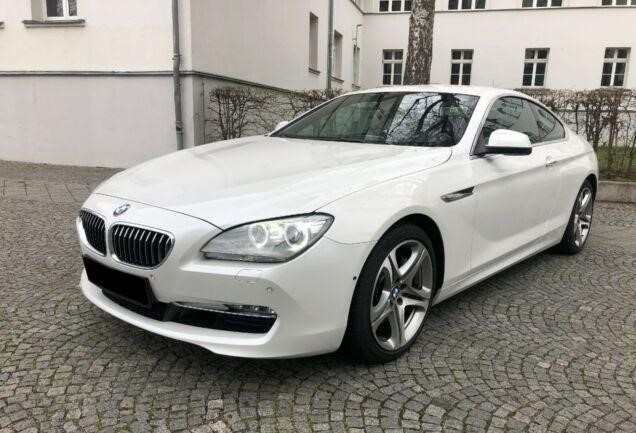 Left hand drive BMW 6 SERIES 640D