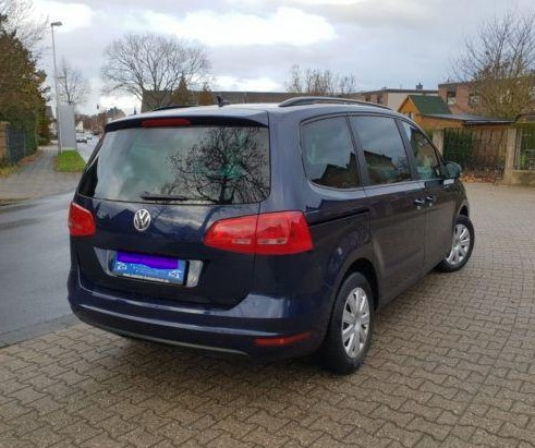 Left hand drive VOLKSWAGEN SHARAN 2.0 TDI DPF BlueMotion