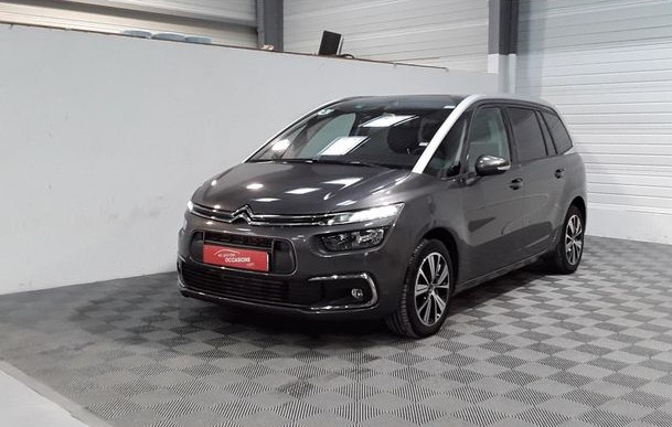 lhd CITROEN C4 GRAND SPACETOURER (04/2018) - GREY - lieu: