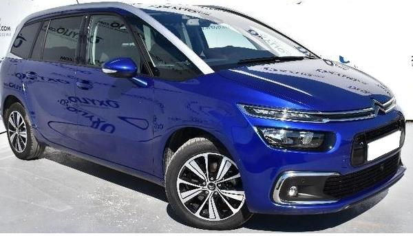 lhd CITROEN C4 GRAND SPACETOURER (04/2018) - BLUE - lieu: