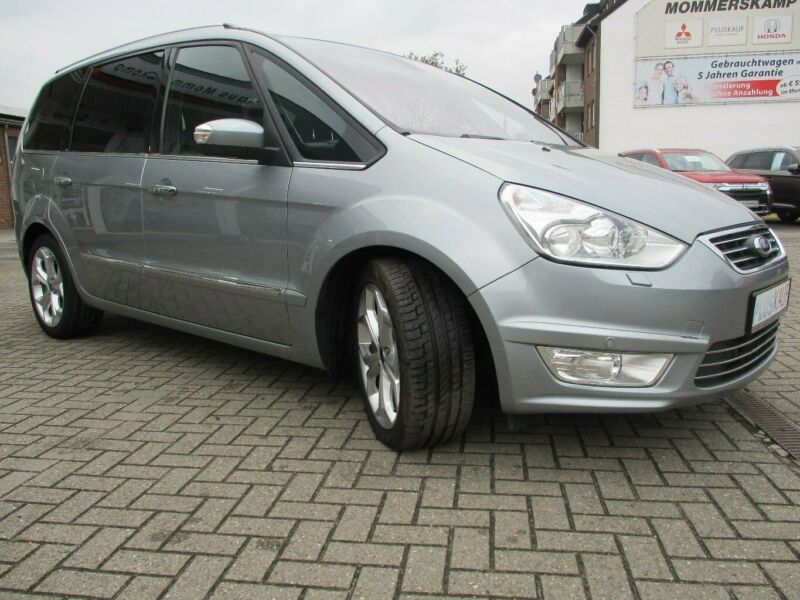 Left hand drive FORD GALAXY 2.0 TDCI 163 7 SEATS TITANUM