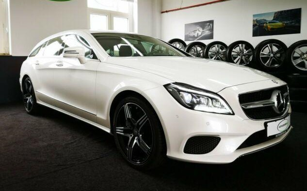 Left hand drive MERCEDES CLS CLASS 350 Shooting Brake BlueTEC Multibeam