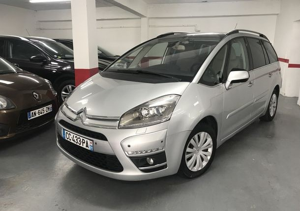 Left hand drive CITROEN C4 GRAND PICASSO 7 SEATS 1.6 150 BHP FRENCH REG