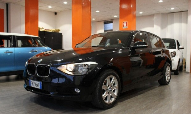 Left hand drive BMW 1 SERIES 118D AUTO BUSINESS