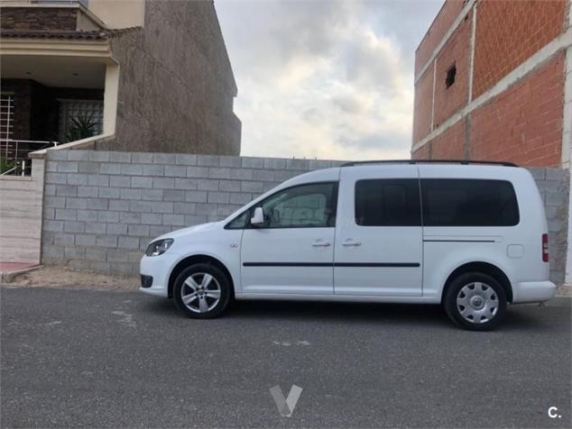 lhd VOLKSWAGEN CADDY (03/2014) - WHITE - lieu: