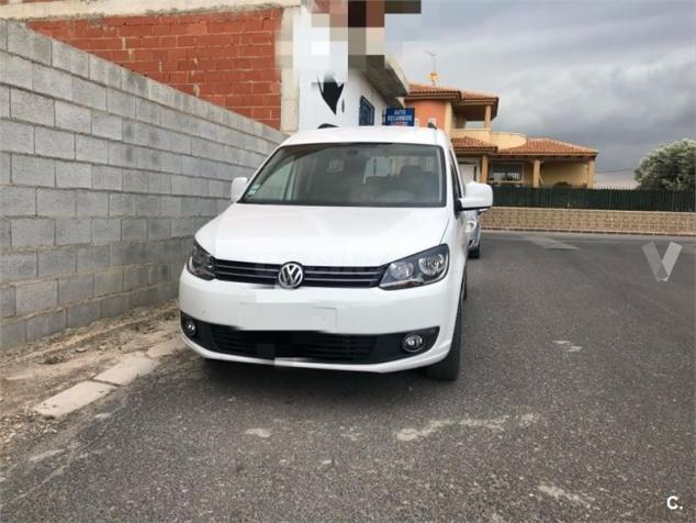 VOLKSWAGEN CADDY (03/2014) - WHITE - lieu: