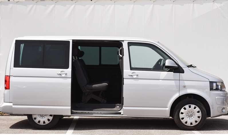 Lhd VOLKSWAGEN CARAVELLE (04/2010) - SILVER