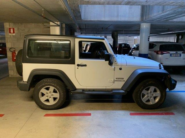 Left hand drive JEEP WRANGLER 2.8 CRD