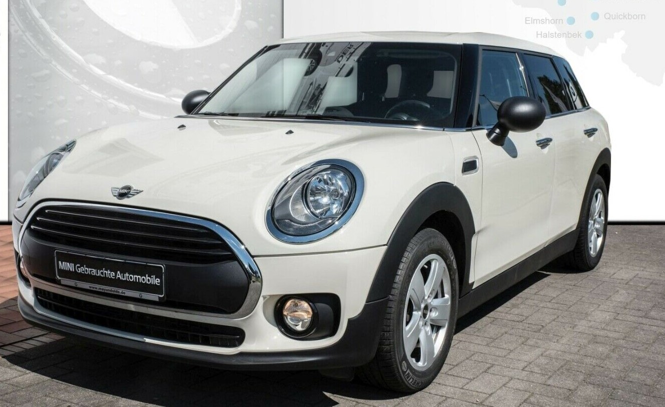 Left hand drive MINI CLUBMAN ONE D AUTO