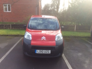 Left hand drive CITROEN NEMO 1.4 HDI UK REG