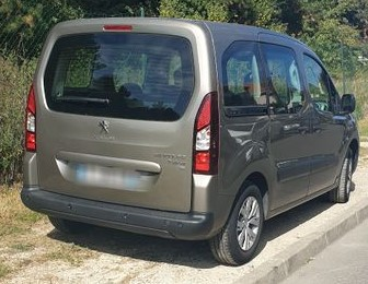PEUGEOT PARTNER (04/2015) - BROWN