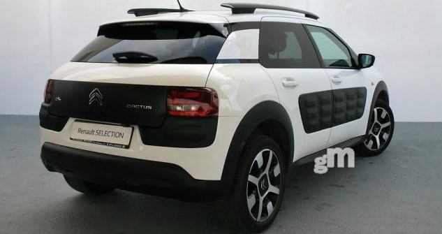 lhd car CITROEN C4 CACTUS (04/2014) - WHITE