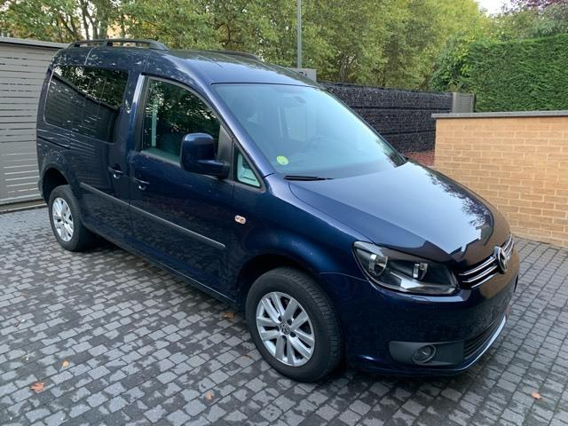 Left hand drive VOLKSWAGEN CADDY 2.0 CR TDI 7 5 SEATS 4MOTION