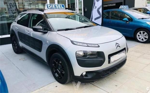 Left hand drive CITROEN C4 CACTUS 1.6 HDI 100 AUTOMATIC 2015