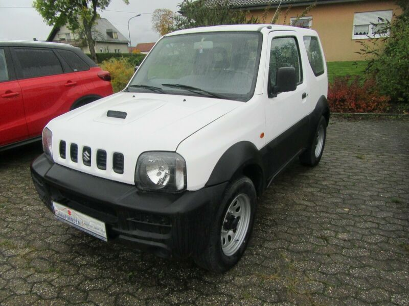 Left hand drive SUZUKI JIMNY  1.3 ALLGRIP Club