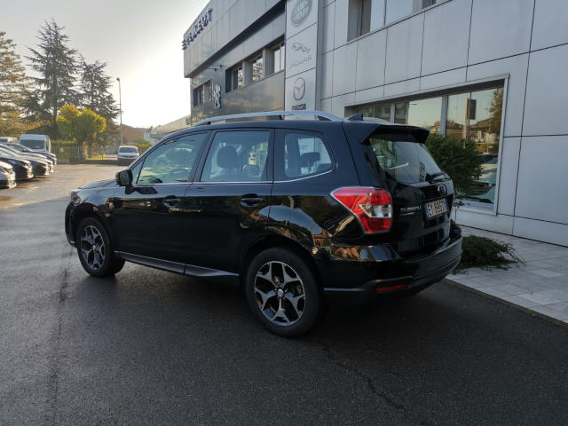 Left hand drive SUBARU FORESTER  2.0D Lineartronic Sport