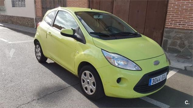 lhd FORD KA (04/2010) - YELLOW - lieu:
