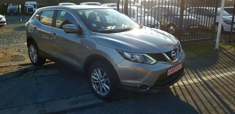 Left hand drive NISSAN QASHQAI 1.6 DCI N-VISION FRENCH REG