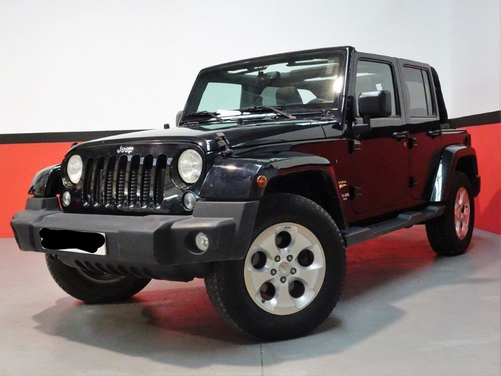 JEEP WRANGLER (04/2015) - BLACK