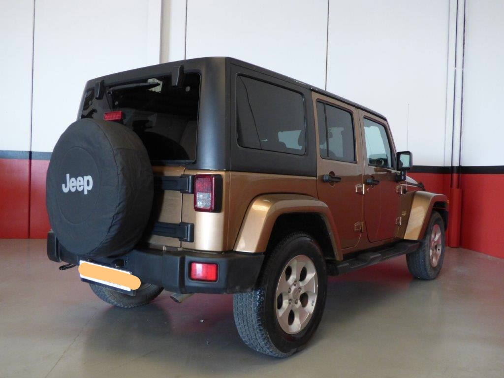 Left hand drive JEEP WRANGLER 2.8 CRDI UNLIMITED SAHARA SPANISH REG