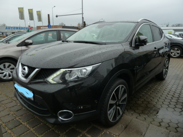 Left hand drive NISSAN QASHQAI 1.6 DCI TEKNA LEATHER