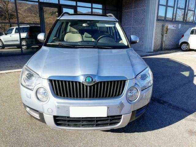 Left hand drive SKODA YETI 1.8 TSI 4X4 GPS LEATHER PANORAM