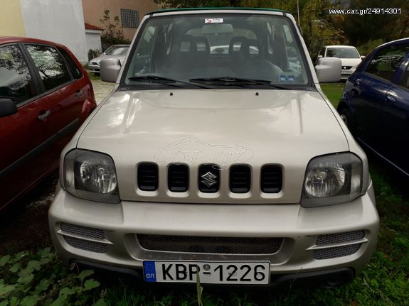 Left hand drive SUZUKI JIMNY 1.3 SOFTOP GREEK REG