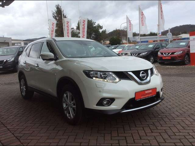 Left hand drive NISSAN X TRAIL 1.6 DCI ACENTA 4X4