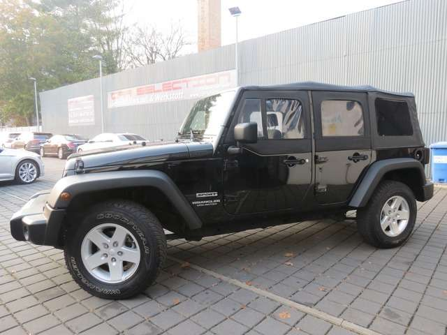 Left hand drive JEEP WRANGLER  2,8 CRDI Unlimited Sport