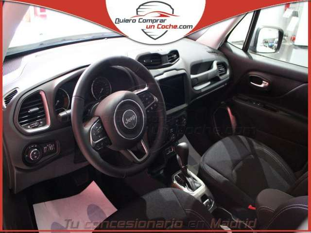 Left hand drive JEEP RENEGADE 1.3 Limited 4x2 DDCT